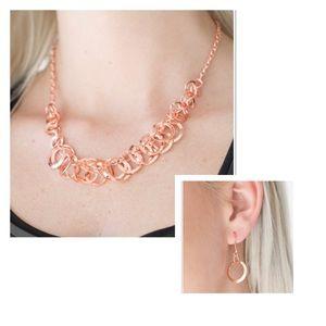 Paparazzi Necklace & Earrings Set